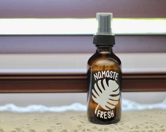 Namaste Fresh Bottle Decal (Available in multiple sizes & colors)