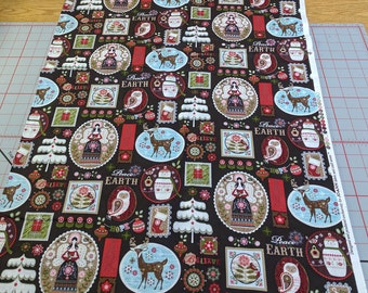 Christmas Cotton Fabric from JoAnn Fabrics