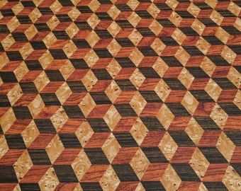 Knotty Intentions-Wood Blocks (20616) Cotton Fabric from Northcott