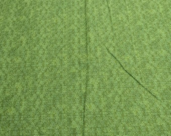 Dit Dot-Green Meadow Cotton Flannel Fabric from In the Beginning Fabrics