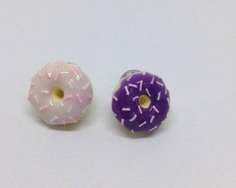 Colour Changing Light Pink Doughnut Pin