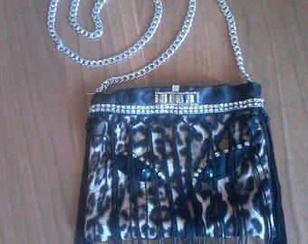 KANDAKE Shoulder bag with fringes