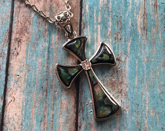 Southwest Boho Pendant/Necklace, Pendant/Necklace, Southwest Jewelry, Boho Jewelry, Boho  Cross Necklace, Southwestern Necklace