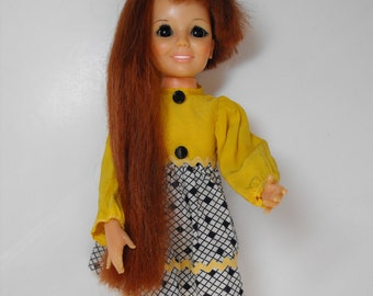 1969 Chrissy Doll with Growing Hair in Original Clothes - (1240)