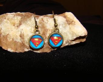 SUPERMAN Hook Earings