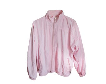Pink Retro Running Jacket