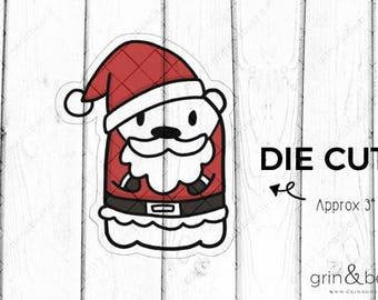 Santa Barry! - Barry the Bear Diecut