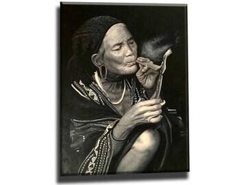 Woman art, woman painting, woman portrait, figure painting, original oil painting