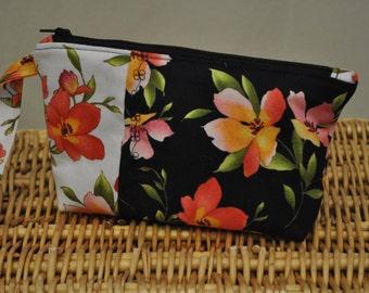 Mini clutch (Black Catalina Floral)