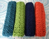 Crocheted Placemats / Sets of 2 or 4 / Handmade Placemats / Durable Placemats / Crochet Dinner Mats / Country Goods