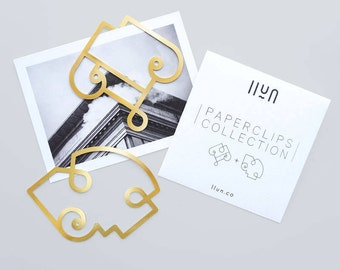 Brass Paperclips / Bookmarks