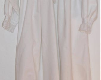 Edwardian Nightdress with Broderie Anglaise & Original Buttons