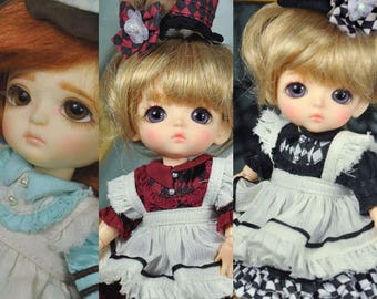 CODENOiR - Alice Wish BJD Clothes for Lati Yellow /  Pukifee / Muichan / 1/8 BJD