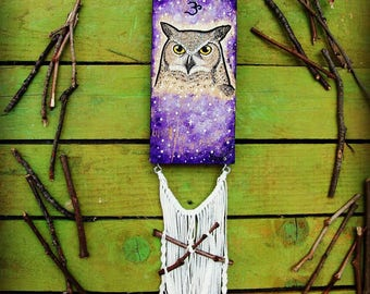 Owl Spirit Guide - Crown Chakra