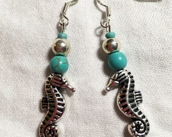 Handcrafted Seahorse Earrings