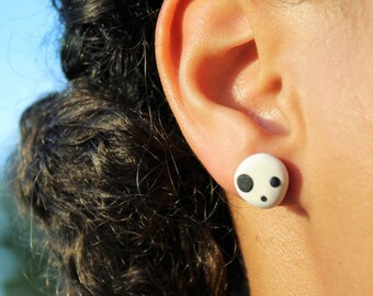 Kodama stud earrings-Princess Mononoke-Studio Ghibli