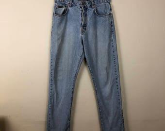 90s Calvin Klein High Waist Denim Jeans Size 34, High Waist Mom Jeans, Denim Jeans 34
