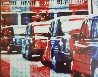 Greeting Card - London Taxi