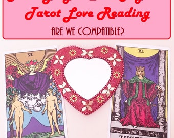 Same Day 2 Card Compatibility Tarot Reading - Experienced, Empathic Reader GREAT VALUE!