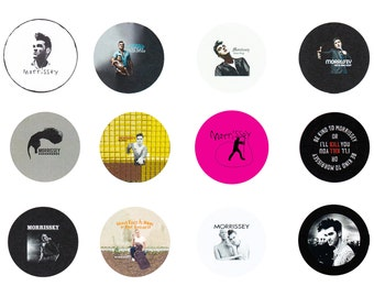 "Morrissey 1"" Pins - 12 pack"