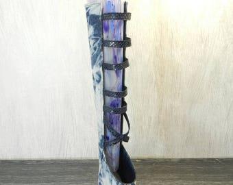 """""""John boot"""" vase, handmade"""