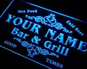 Custom NEON Sign, Custom Sign, Name Sign, Bar Sign, Personalized Sign, Shop Sign, Grill Sign, Restaurant Sign, Your Name Sign, Room Sign