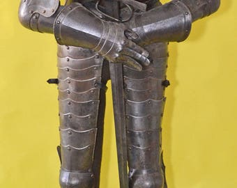 17th Century French Style Life Size Complete Suit of Armor