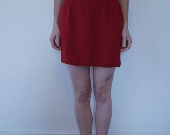 Vintage Little Red Skirt