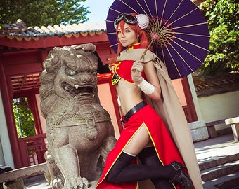 Gintama | Kagura | handmade costume Cosplay with gift | Halloween