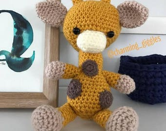 Gerry the Giraffe - Crochet, amigurumi