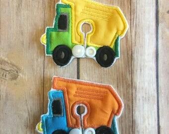 Dump Truck | Reusable Gtube Pads | Tubie Pads