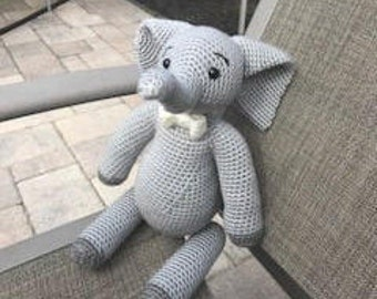 Pattern Elephant Ralphie the Elephant Pattern Crochet