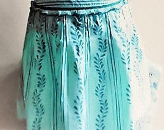 From BLENDShe With, 3 Women skirt Turquoise color