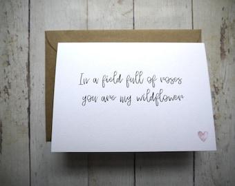4th Wedding Anniversary Card For Husband