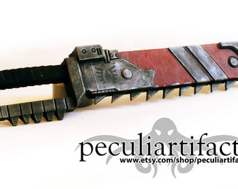 Cosplay - Warhammer 40k Space Marine Chainsword