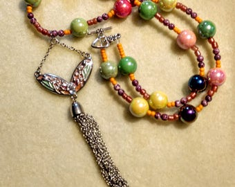 From the Heart Rainbow Magic Necklace