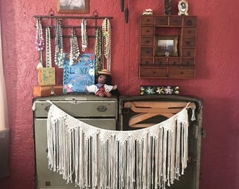 Macrame Banner (custom - made to order)