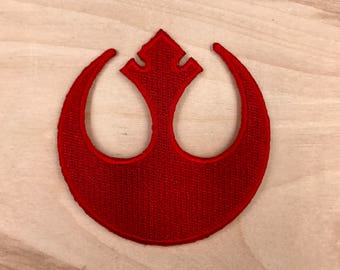 STAR WARS PATCH - Iron On, Rebel Alliance Patch - Great Gift Idea!