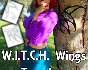 W.I.T.C.H. | Wings | Cosplay Template
