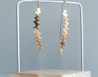 Dauradella - gold platted earrings