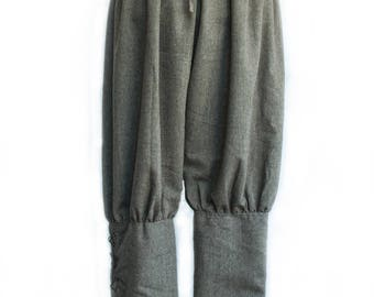 Viking style Trousers Brown, Grey, Black & White