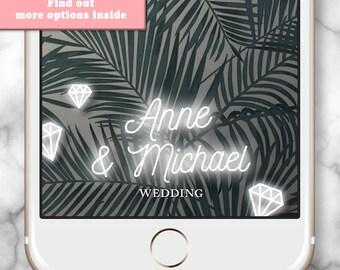 Wedding Snap Chat Filter, Snapchat Filter Wedding, Wedding Snapchat Filter, Snapchat Geofilter Wedding, Engagement Snapchat Filter, Diamond