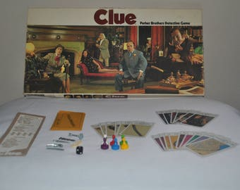 1972 Clue Board Game - Complete!