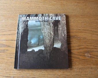 Vintage Mammoth Cave National Park Book
