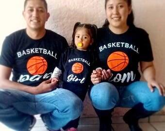 family basketball shirts, family t-shirts, sport shirts, basketball fans, basketball team, basketball tshirt, basketball lovers