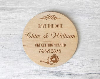 Rustic Wedding Invitation - Rustic Save the Date - Wood Magnets - Wedding Invitation Rustic - Save the Date Magnets - Custom Magnets