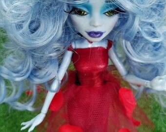 Monster High Doll repaint, Ooak Doll 'Hazal' by MerviaArt