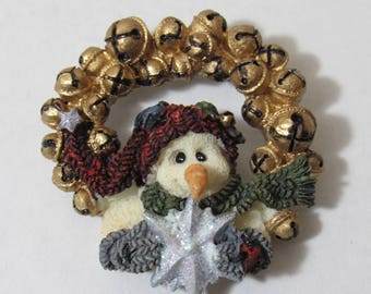 Vintage Wreath Brooch/Folkwear from Boyd's Bears and Friends - Boyd's Collection - 1995