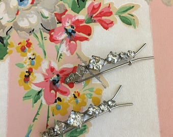 Vintage Barrette Set