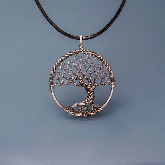 Family tree of life wire wrapped jewelry tree life pendant like this item aloadofball Image collections